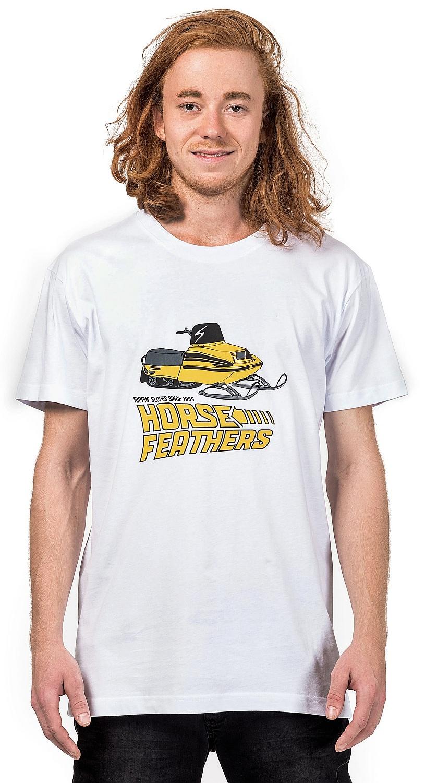 tričko Horsefeathers Future - White M