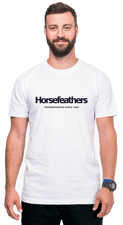 tričko Horsefeathers Quarter - White L