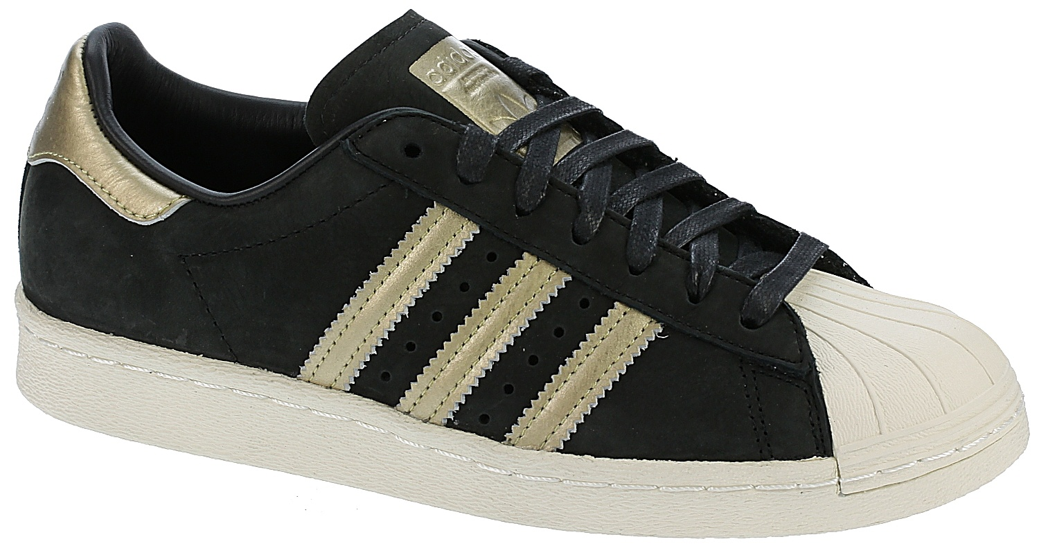 boty adidas Originals Superstar 80S 999 - Core Black Supplier Colour Off  White - Snowboard shop af50ab0a349