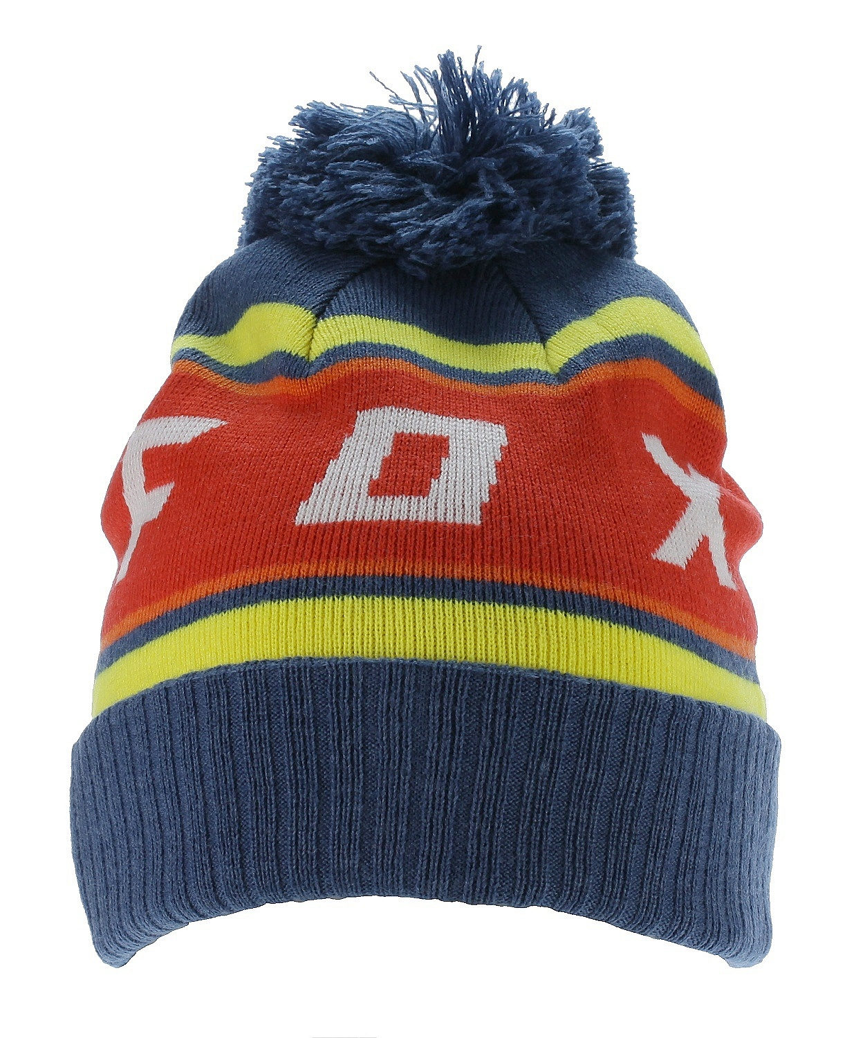 dfbc4f2230 čiapka Fox Black Diamond Pom - Dusty Blue - Snowboard shop ...