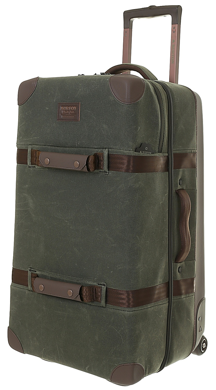 73d4c6ba53b6 suitcase Burton Wheelie Double Deck - Forest Night Waxed Canvas ...