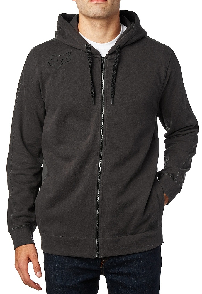 mikina Fox 360 Zip - Black Vintage S