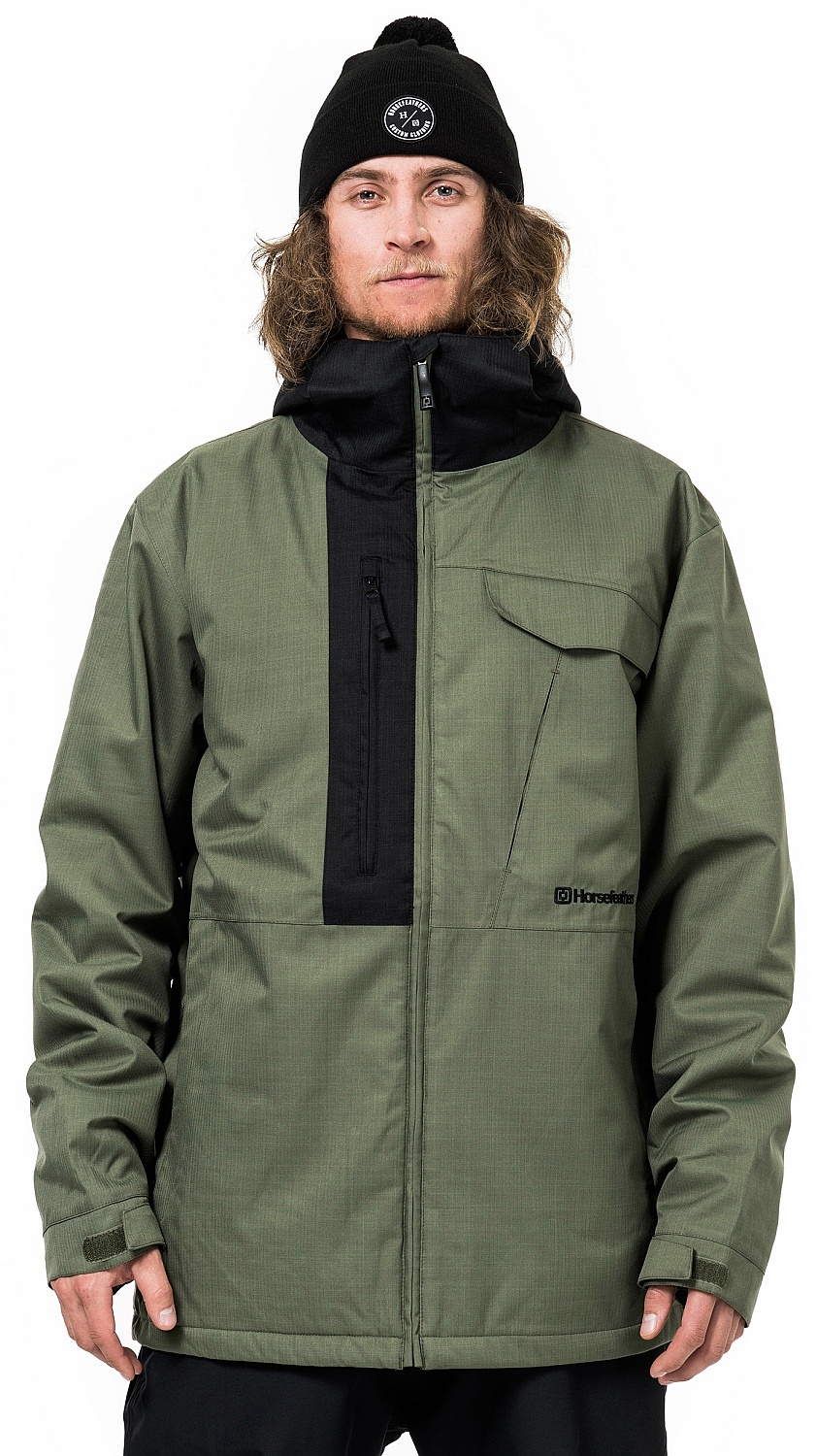 bunda Horsefeathers Kailas Insulated - Heather Olive S