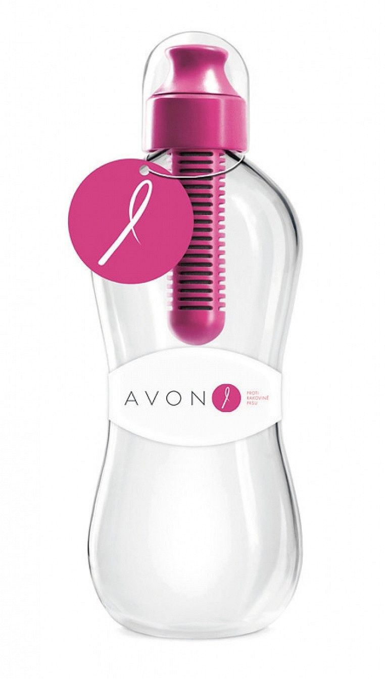 láhev na pití Bobble Avon - Magenta 0.55 L