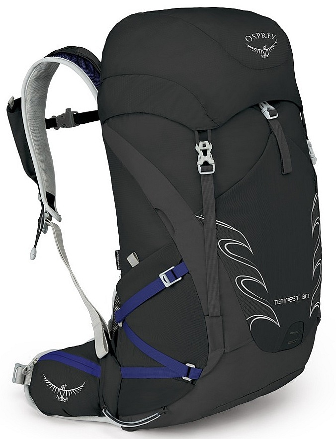 7c6b20a79a5 batoh Osprey Tempest 30 - Black 30 L