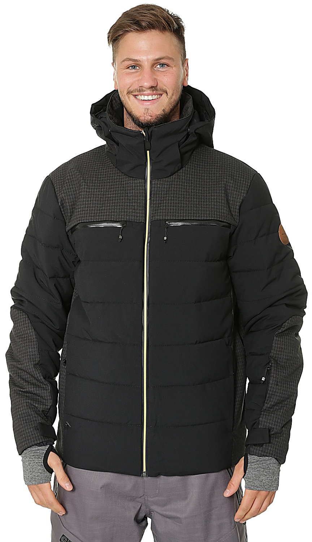 The skateshop shop KVJ0Black Edge Quiksilver jacket Snowboard w5vqgWC