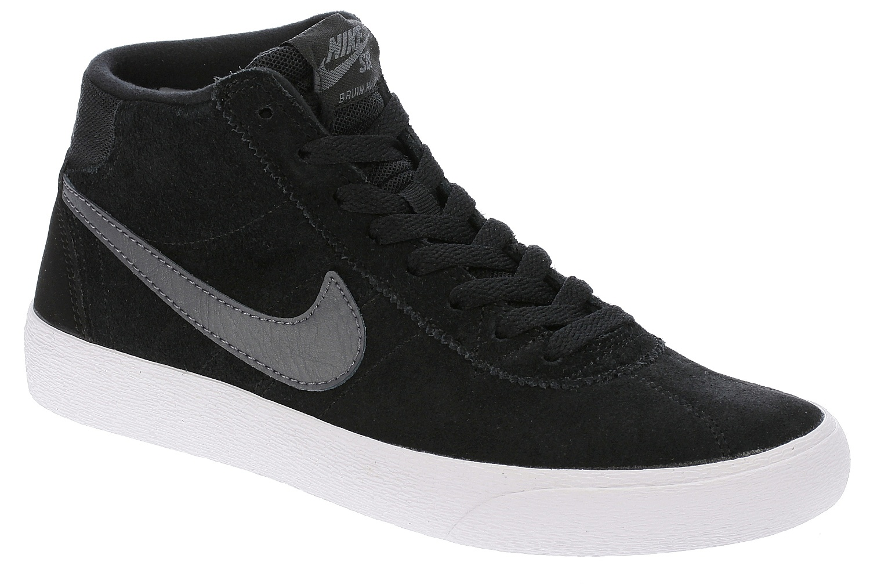 948c5056940d topánky Nike SB Bruin HI - Black Dark Gray White - Snowboard shop ...