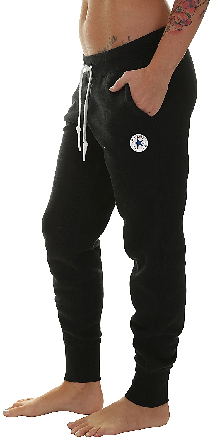9d5433ffadea59 sweatpants Converse Core Signature 10004546 - A02 Converse Black ...