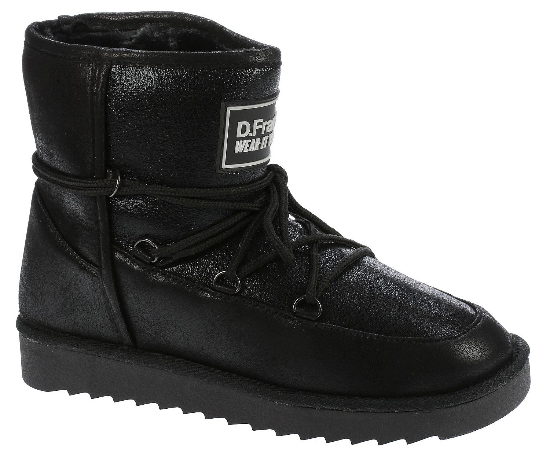 shoes D.Franklin HIK 18119Nordic Low Negro Snowboard