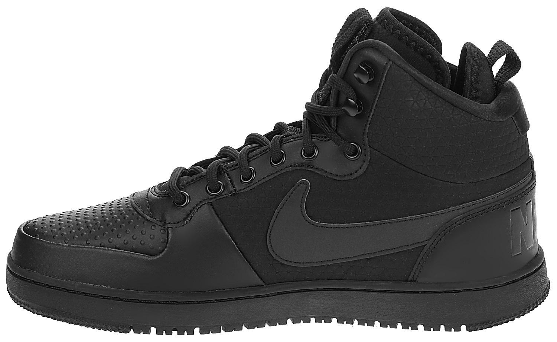 topánky Nike Court Borough Mid Winter - Black Black - Snowboard shop ... 28855f9105c