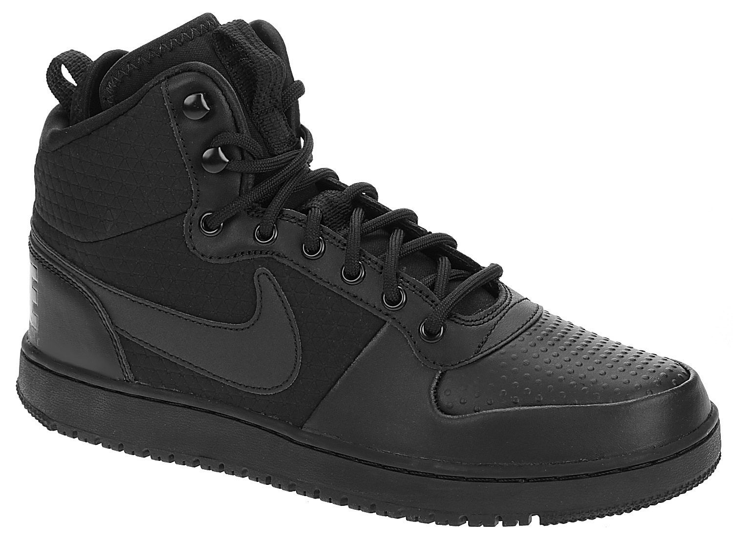 topánky Nike Court Borough Mid Winter - Black Black - Snowboard shop ... 7d1a3ae2ac7