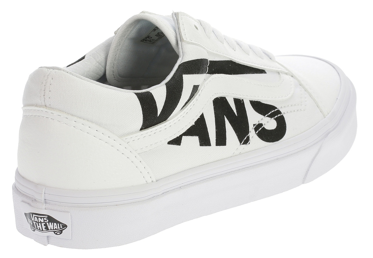 shoes Vans Old Skool - Vans/True White/Black - Snowboard ...