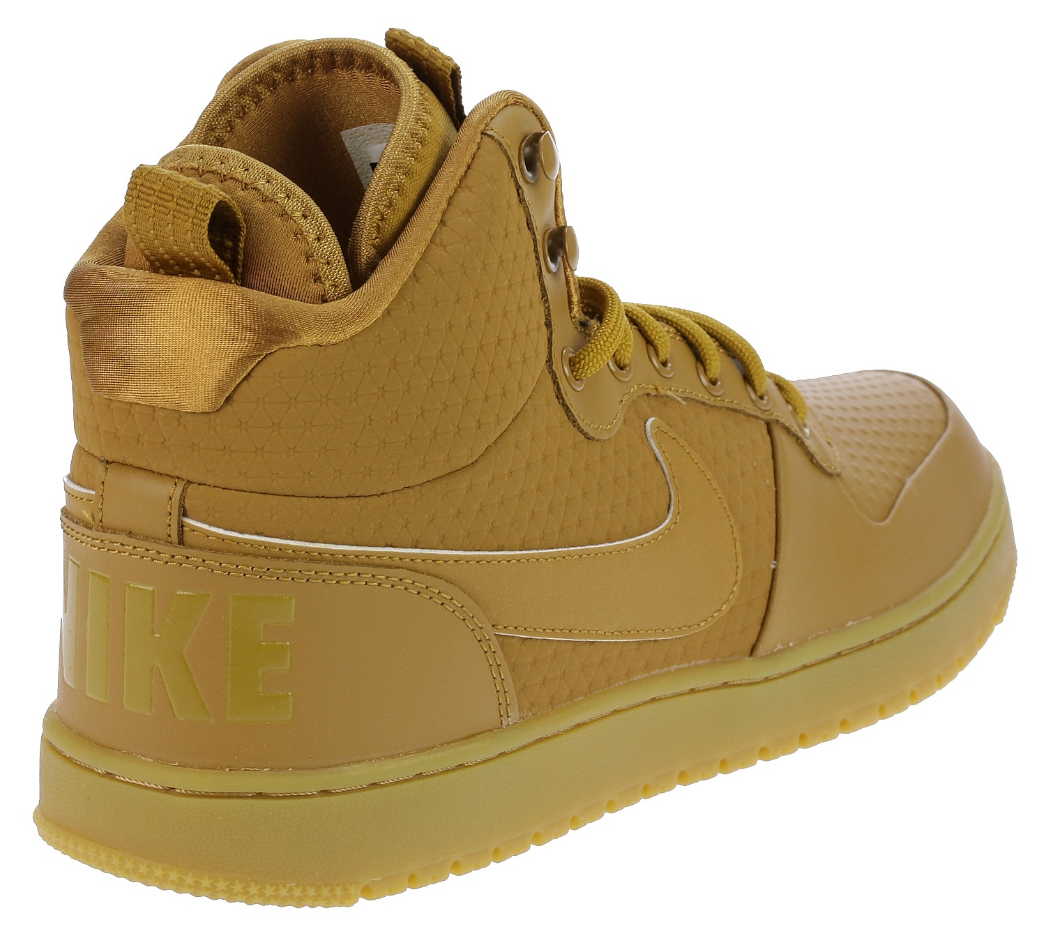 ... topánky Nike Court Borough Mid Winter - Wheat Wheat Black Gum Light  Brown ... 1644dde1964