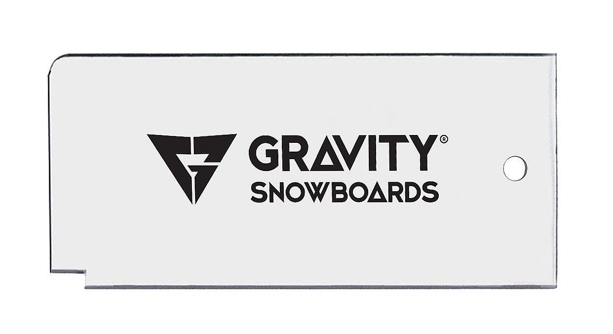škrabka Gravity Wax Scraper - White one size