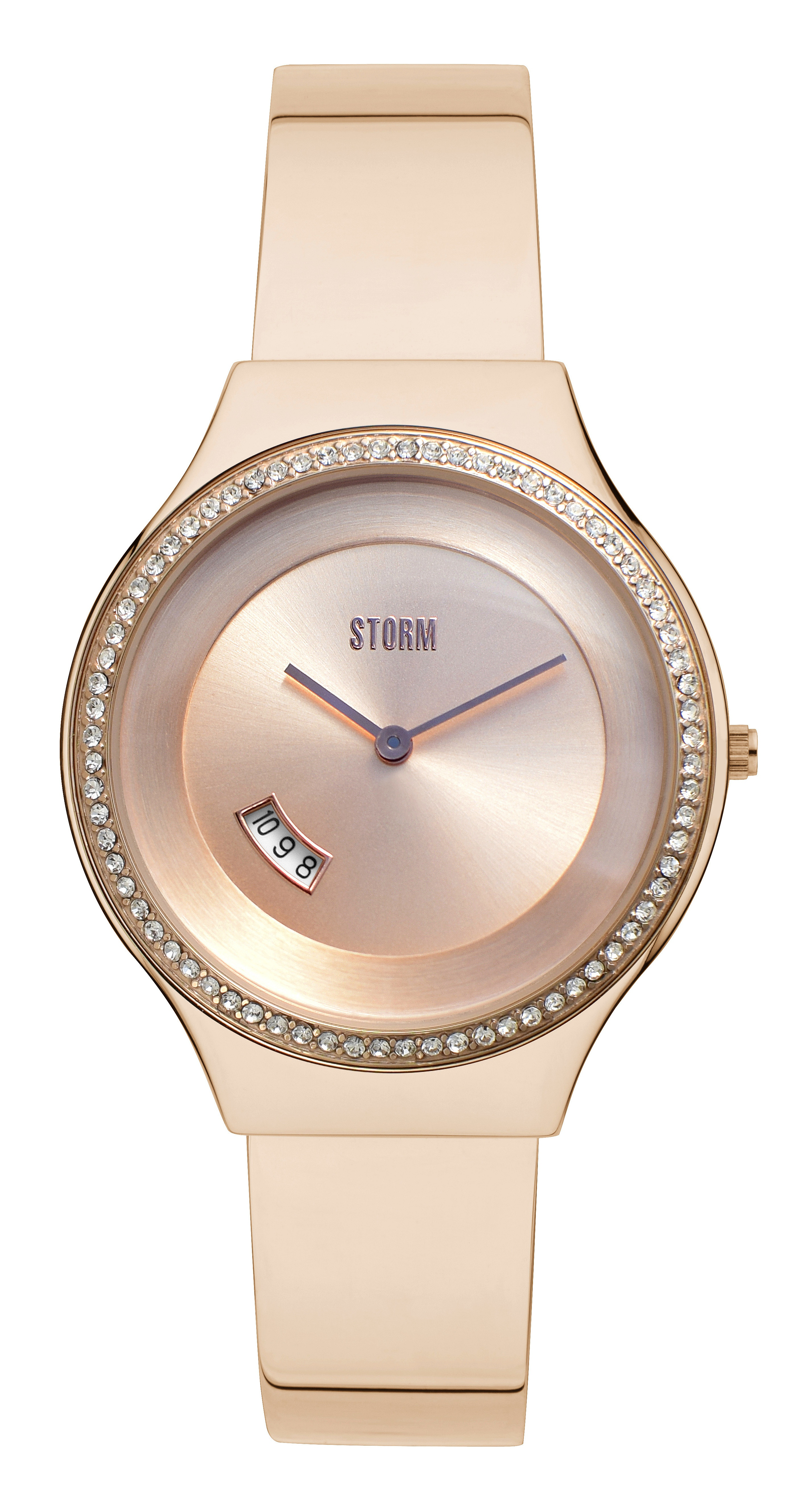 hodinky Storm Cody Crystal - Rose Gold one size f957d91068