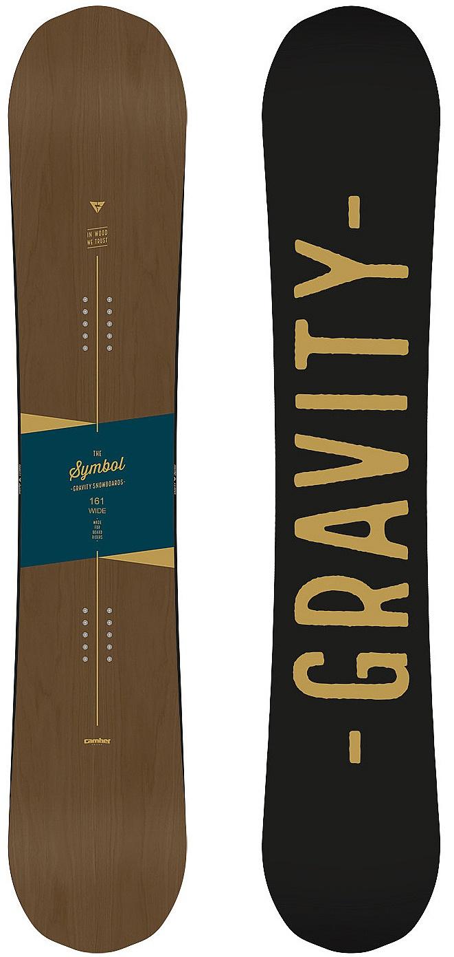 410b402d44 snowboard Gravity Symbol Wide - No Color - Snowboard shop