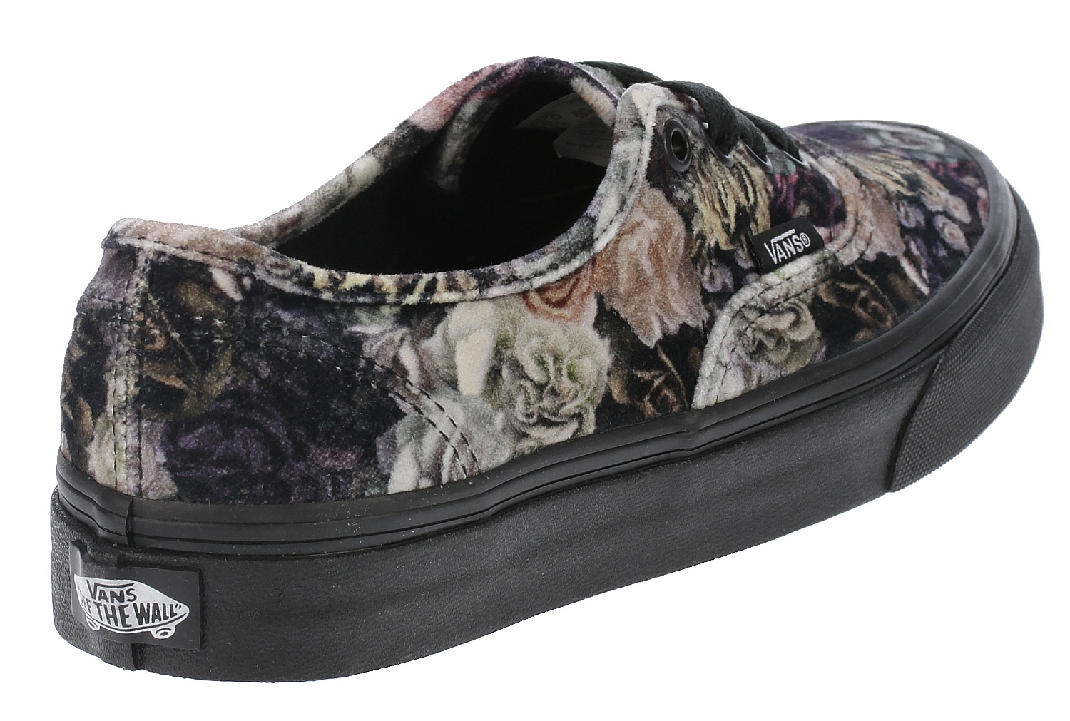 da98a65331a shoes Vans Authentic - Velvet Floral Black - Snowboard shop ...
