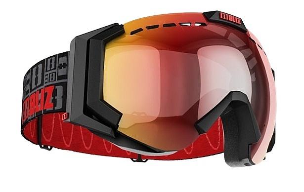 brýle Bliz Carver XT - 36125-14/Matt Black/Smoke/Red Multi/Orange
