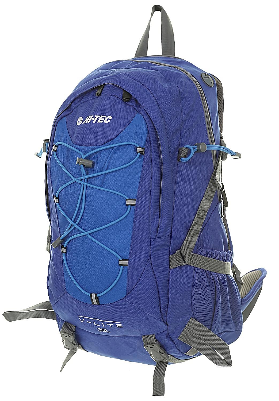batoh Hi-Tec Aruba 35 - Mazarine Blue/Victoria Blue/Frost Gray 35 L