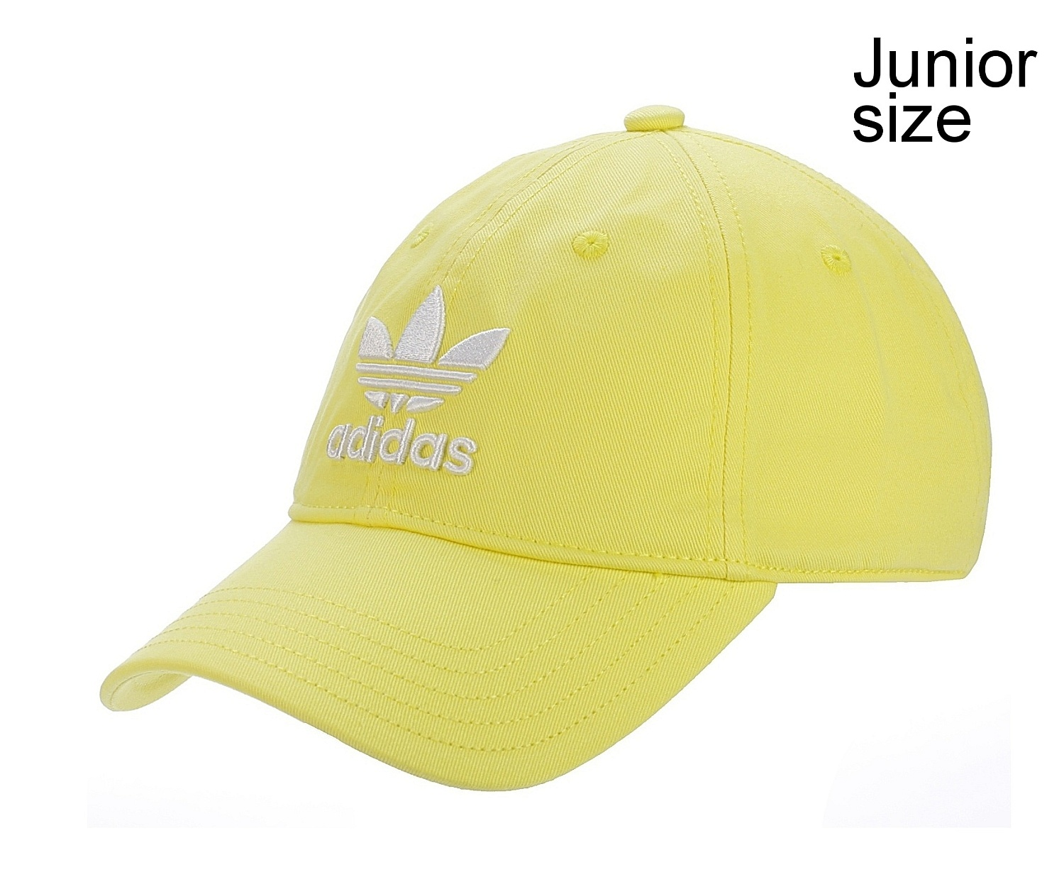 c0eb36fb6ee dětská kšiltovka adidas Originals Trefoil Cap Youth - Intense Lemon White -  Snowboard shop