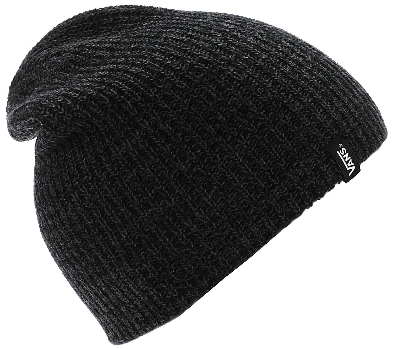 čiapka Vans Mismoedig - Black Heather - skate-online.skate-online.sk 865ea5339e9