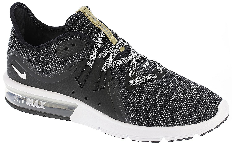 22ec2b456fb4 boty Nike Air Max Sequent 3 - Black White Dark Gray 38