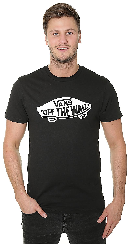 T-Shirt Vans OTW - Black/White