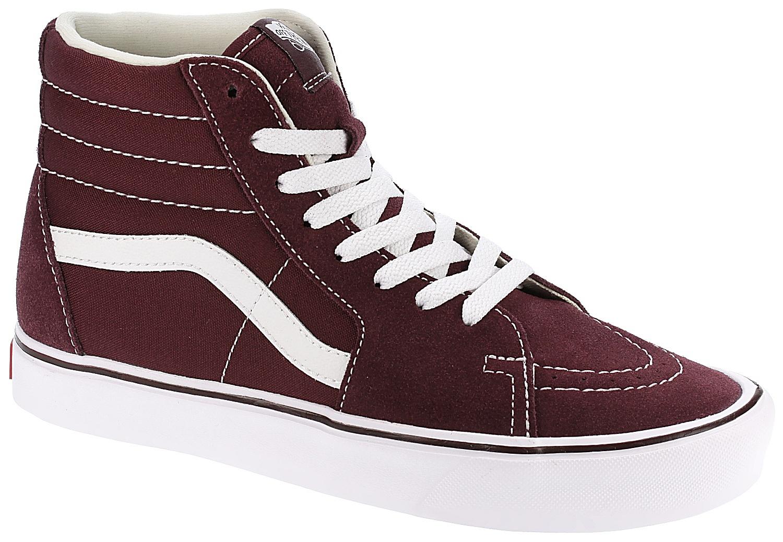 e68ee789b1 shoes Vans Sk8-Hi Lite - Suede Canvas Port Royale True White - Snowboard  shop