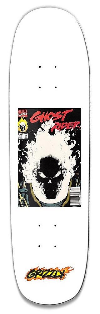 skateboardová deska Grizzly X Ghost Rider Cover Cruiser - Assorted 8