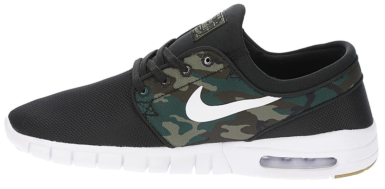 c9ad3fbf1e ... shoes Nike SB Stefan Janoski Max - Black/White/Medium Olive/Gum Light  ...