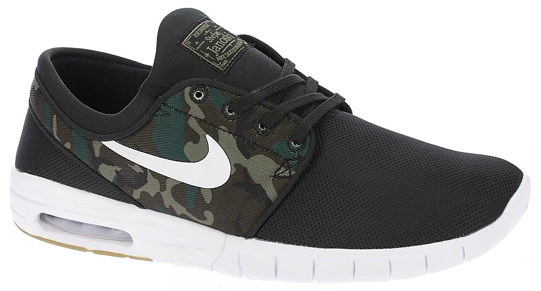 4401171e77 shoes Nike SB Stefan Janoski Max - Black/White/Medium Olive/Gum Light Brown  - Snowboard shop, skateshop - snowboard-online.eu
