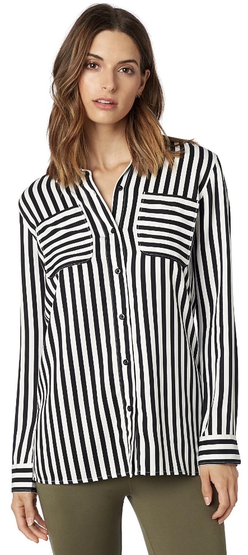 0cf4e30966b košile Fox Jail Break Woven LS - Black White - Snowboard shop ...