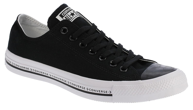 boty Converse Chuck Taylor All Star Pinstripe OX - 159587 Black Black White  - boty-boty.cz d241af1450e
