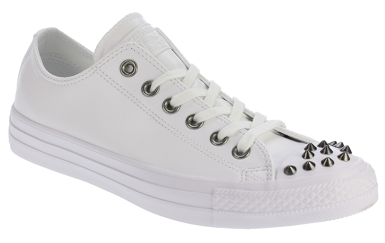 2de4abc16d3 boty Converse Chuck Taylor All Star Studs OX - 559869 White White White