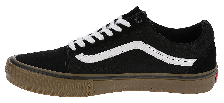 boty Vans Old Skool Pro - Black/White/Medium Gum