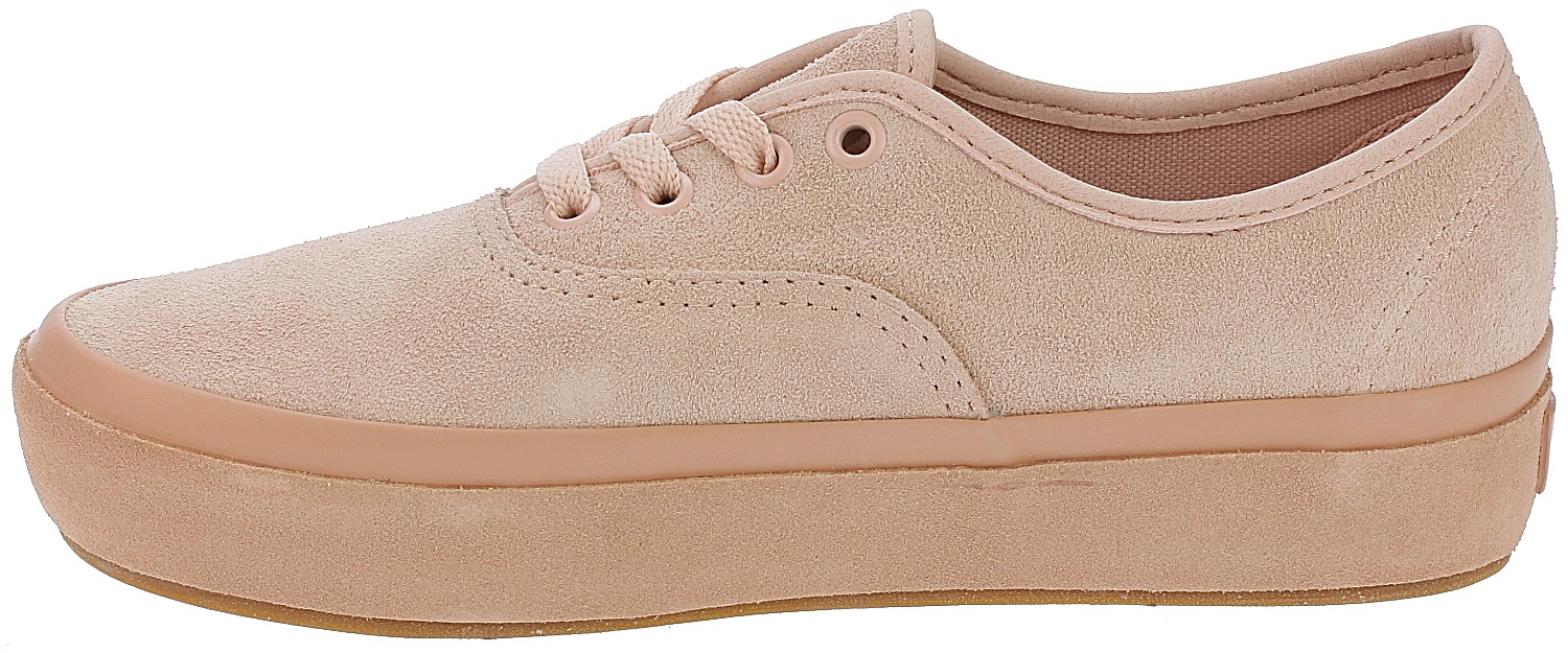 2597c78cf1a1 ... shoes Vans Authentic Platform 2.0 - Suede Outsole Evening Sand Muted  Clay ...