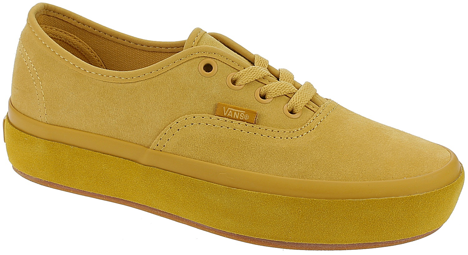 e170ae85 shoes Vans Authentic Platform 2.0 - Suede Outsole/Ochre/Tawny Olive ...