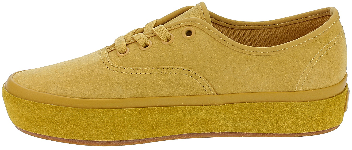 dbec1c6374f ... shoes Vans Authentic Platform 2.0 - Suede Outsole Ochre Tawny Olive ...