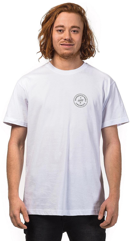 tričko Horsefeathers Five - White XL