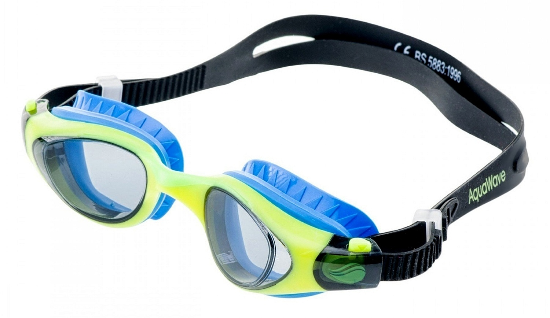 brýle AquaWave Buzzard - Black/Blue/Yellow Green/Smoky one size
