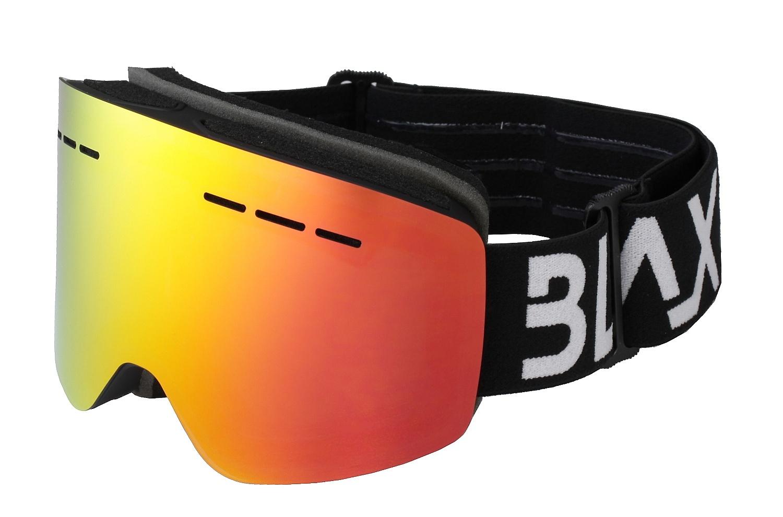 brýle BLAX Fantom - Black/Red Mirror one size