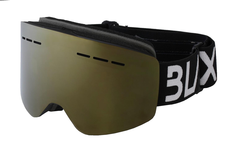 brýle BLAX Fantom - Black/Smoke Gold Mirror one size