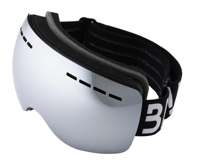 brýle BLAX Icon - Black/Silver Mirror one size