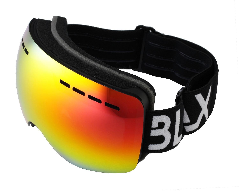 brýle BLAX Icon - Black/Yellow Mirror one size