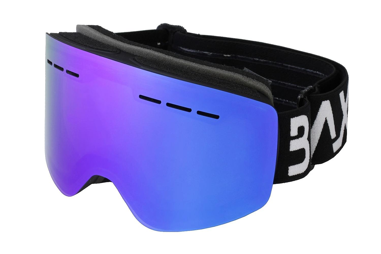 brýle BLAX Fantom - Black/Blue Mirror one size