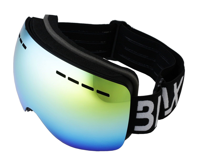 brýle BLAX Icon - Black/Blue Mirror one size