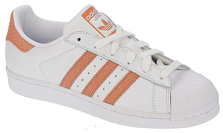 boty adidas Originals Superstar - White/Chalk Coral/Off White 39 1/3