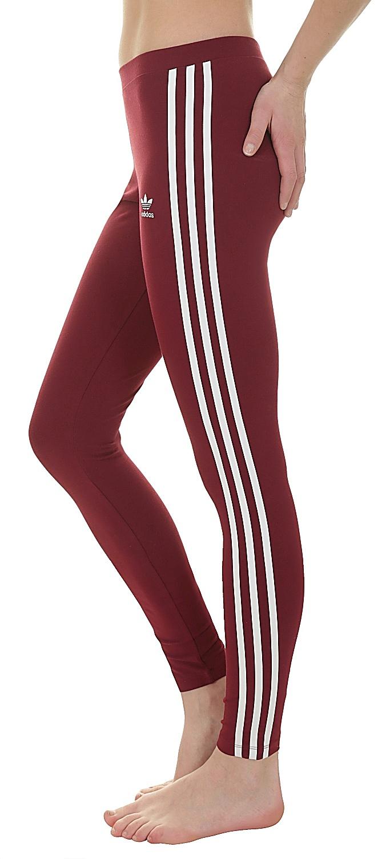 9f73389ccb legíny adidas Originals 3 Stripes Tight - Collegiate Burgundy ...