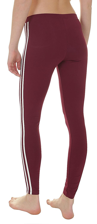 26ee27cfa0 ... legíny adidas Originals 3 Stripes Tight - Collegiate Burgundy ...