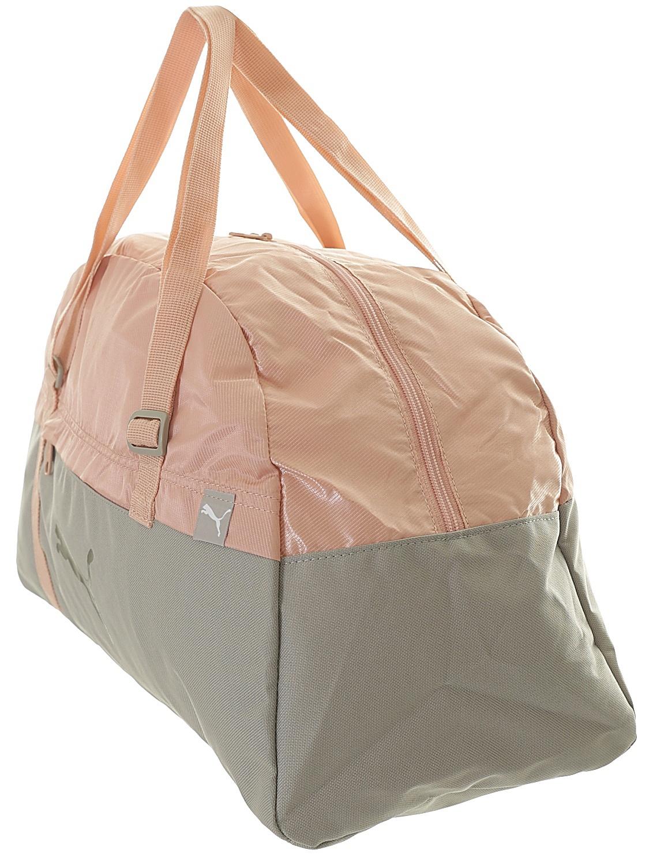 a9239d1c30538 ... bag Puma Core Active Sportbag M EP - Rock Ridge Peach Beige EP ...